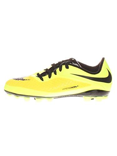 Nike Jr Hypervenom Phelon AG - Botas para niño, Color Amarillo/Negro, Talla 36