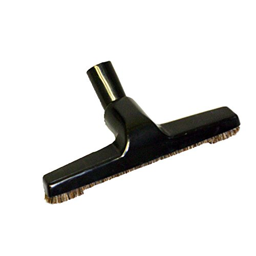 10 inch Wide Wall, Ceramic Tile, Vinyl Flooring, Hardwood, Most Bare Hard Floors with This Style of No Scratch Soft Bristle Brush. Fits Many Beam, Eureka, Electrolux Central Vacuums by All Parts
