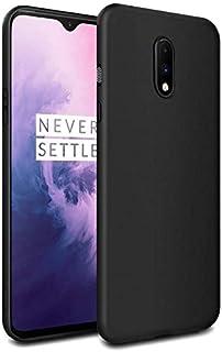 Oneplus 7 Case Cover Premium Ultra Thin Slim Soft Silicon Rubberized Matte Cover Case Cover for Oneplus 7 (Matte Black) by...