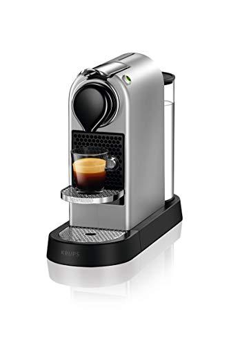 Krups Nespresso XN741B Kaffeemaschine Freistehende Espressomaschine Silber 1 Tassen
