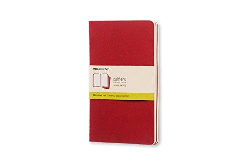 Moleskine CH118 - Set de 3 cuadernos con páginas en blanco