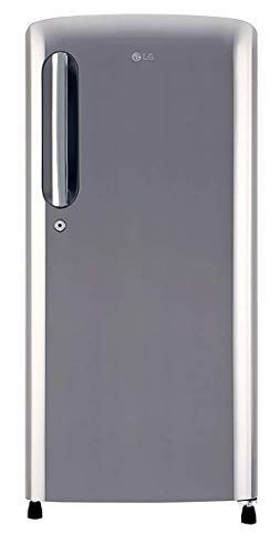 LG 190 L 4 Star Inverter Direct-Cool Single Door Refrigerator (GL-B201APZY, Shiny Steel)