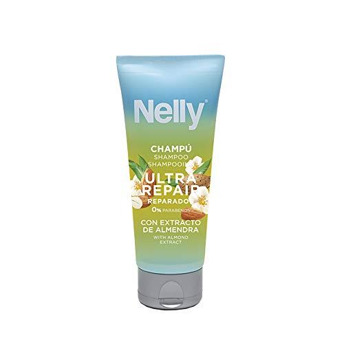NELLY Champú Ultra Repair - 12 Recipientes de 100 ml - Total: 1200 ml (16220000000)