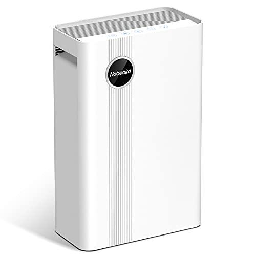 Purificateur d'Air avec Vrai Filtre HEPA, 4 Étage de Filtration et Générateurs d'Ions pour des...