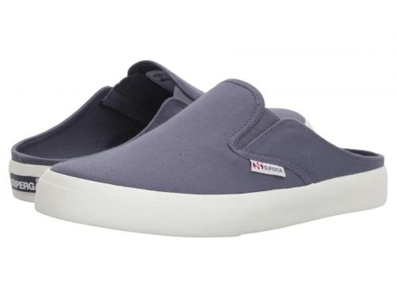 バンド漂流鯨Superga(スペルガ) レディース 女性用 シューズ 靴 スニーカー 運動靴 2388 COTW Slip-on Sneaker - Vintage Blue [並行輸入品]