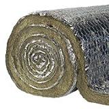 Laine de roche avec aluminium