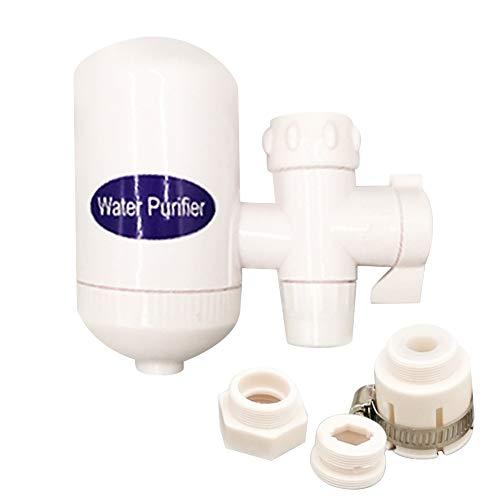 happyhouse009 Wasserhahn-Wasserfilter, tragbarer Wasserhahn, Keramik-Wasserfilter, Haushalts- und Küchen-Ionisator multi