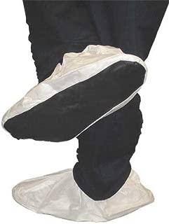 CONDOR 23KX19 Pleated Bouffant Cap,PP,24 In,Wht,PK100