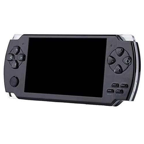 ASDFGT-778 Handspiel-Konsole 4.3-Zoll-Bildschirm MP4-Player MP5 Spielspieler Reale 8GB Unterstützung for PSP Spiel, Kamera, Video, E-Boo (Color : Black)
