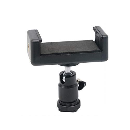 ZHAOHUIYING 1/4 Metalen Hot Schoen Kleine Cloud Platform SLR Camera Beugel Stabilizer 360 Graden Roterende Pan/tilt Clip