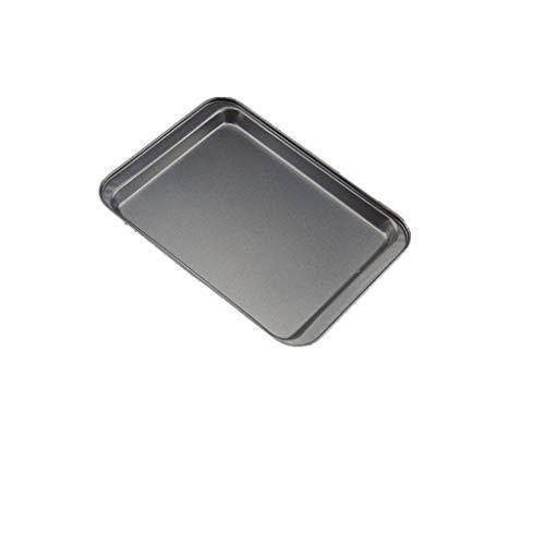Backform rechteckig Non-Stick Brot Kuchen Fach Ofen 33X23x2cm Schwarz Diy für Küche Liebhaber Geschenke,Schwarz