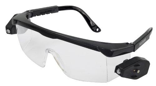 Rolson 60397 Tools - Occhiali da lavoro, protettivi, con LED