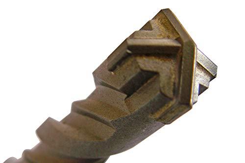 Preisvergleich Produktbild 8mm SDS-Plus Quadro X Betonbohrer / Steinbohrer / Hammerbohrer 4-Schneiden 8x600mm