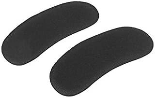 Heel Grips-5 Pairs Self Adhesive Soft Sponge Foot Care Protector Insole Liner Heel Shoes Back Foam Pads Pair Black