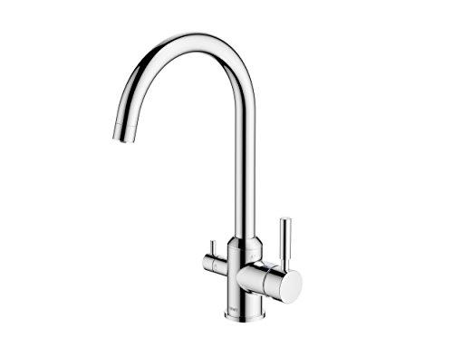 BWT BWTDWFK-TRI FLO Premium Drinking Water Filtration System, Chrome Finish