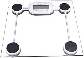 Sonashi Digital Bathroom Scale, Clear SSC-2208