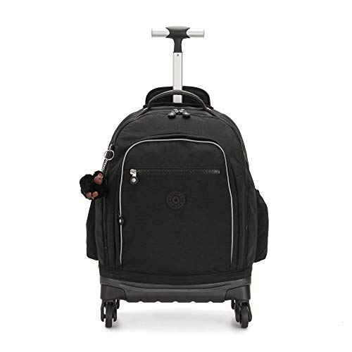 "Kipling Echo II Rolling 13"" Laptop Backpack True Black"