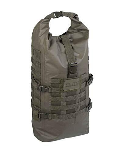 Mil-Tec Sac à Dos Tactique Seals Dry-Bag 35 litres (57 x 29 x 20 cm/Olive)