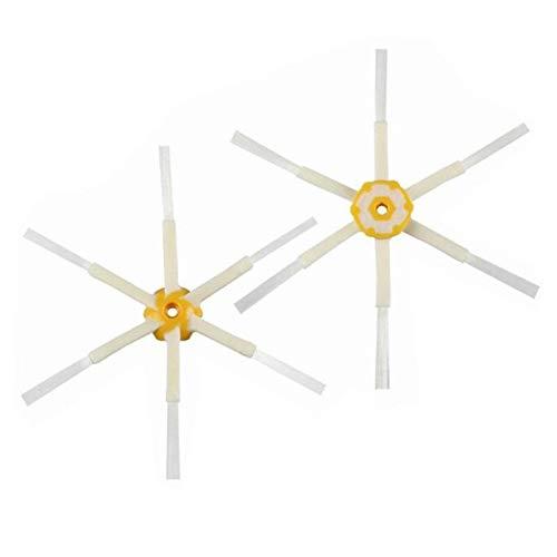 Accesorios de aspiradora Cepillo Lateral del Rodillo centrado Filtro HEPA FIT FOR IROBOT FIT FOR Serie 600 606 616 620 650 655 660 676 680 690 Robot aspiradora (Color : H)