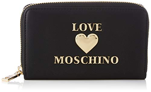 Love Moschino Precollezione SS21 | Portafoglio da Donna, Nero, Normal