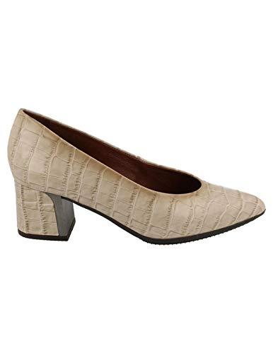 Zapato salón Mujer Hispanitas Beige 39