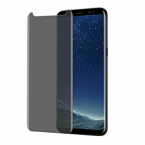 3 piezas Película de cristal moderada del protector de la pantalla de la privacidad del anti-espía, para el Samsung Galaxy A8 S7-Para Samsung Galaxy S8