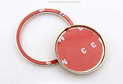 accesorio para pomo de palanca de cambios Diamantes de imitaci/ón de cristal para coche color dorado decoraci/ón para Jaguar XF XE XJ F Pace