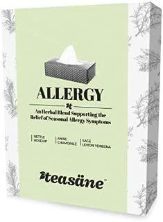 Teasane Wellness Herbal Teas, Allergy Flavor, (2 week supply). All Natural, Caffeine-Free, GMO Free, Sugar Free, Gluten Free, Vegan.