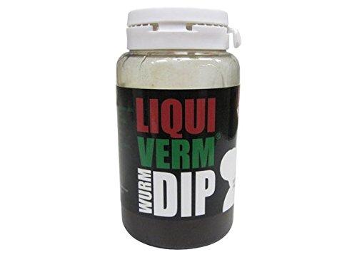 SUPERWURM Wurm-DIP mit LiquiVerm und NHDC - Lockstoff zum Angeln - 100 ml