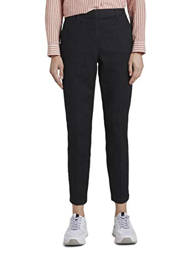 Tom Tailor Mia Slim Pantaloni, 10115/Denim Blu Sciacquato Pulito, 44 Donna