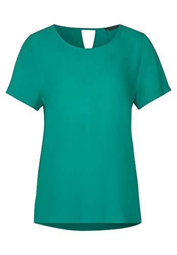 Street One Damen 315017 T-Shirt, Pool Aqua, 34