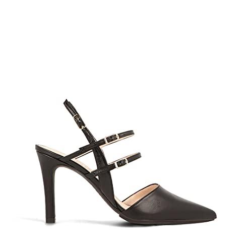 lodi Rabia-TP-1, Zapatos de Vestir Mujer, California Negro, 37 EU