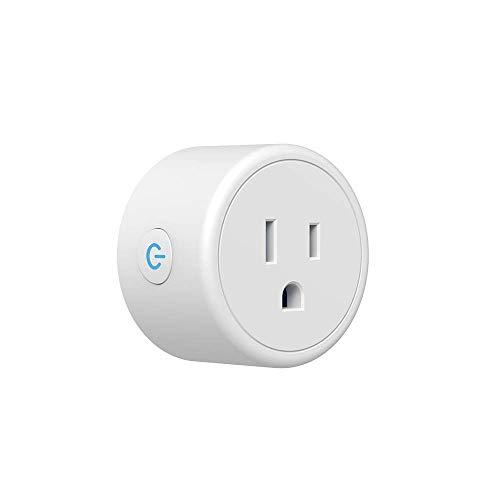 Smart Plug, draadloze aansluiting afstandsbediening, timer, stekker, schakelaar, wifi, smart stopcontact, telefoon app, schakelaar afstandsbediening, Alexa Voice Control-bus dsnmm