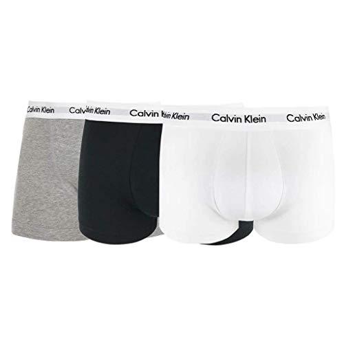 Calvin Klein 3 Pack Low Rise Herren Boxershorts Mehrfarbig
