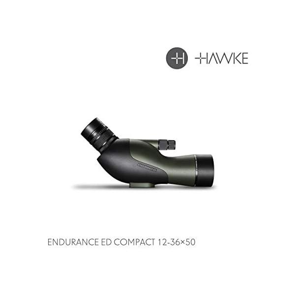 Hawke Endurance ED 12-36×50 Compact Spotting Scope