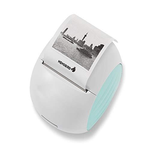 LDJC Thermodrucker Photo, G2 beweglicher Aufkleber Tasche WiFi-Drucker, Bild/Zweidimensionale-Code/Emoji/Handgezeichnete/Web Seite Mobile Phone Remote-Wireless-Drucker,A