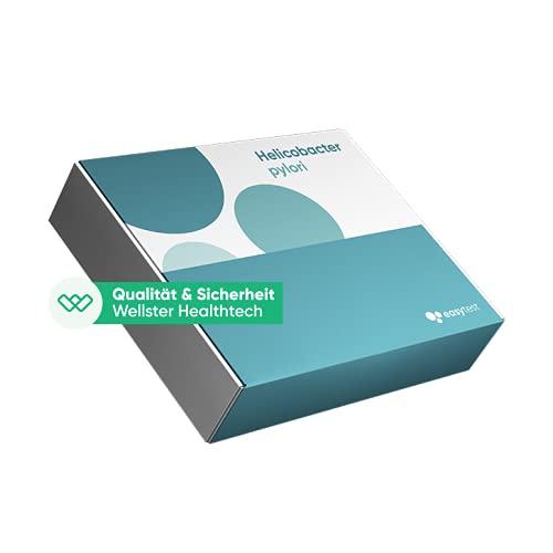 EasyTest Helicobacter Pylori (Gastritis) - schnell easy zu Hause testen, Zertifiziertes Labor 100% diskret