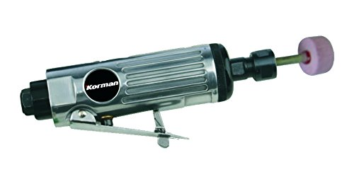 """Korman 215205 Amoladora recta neumatica 1/4\"""", Metal"""