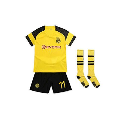 PAOFU-Kind Borussia Dortmund Marco Reus 11# Trikots Gesetzt,Gelb,26