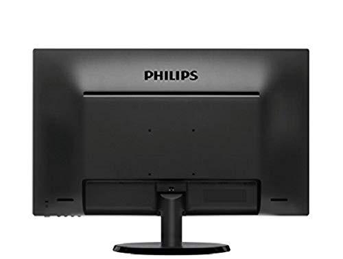 Philips 223V5LSB2/10 54,6 cm (21,5 Zoll) Monitor (VGA, TN Panel, 1920 x 1080, 60 Hz, ohne Lautsprecher) schwarz