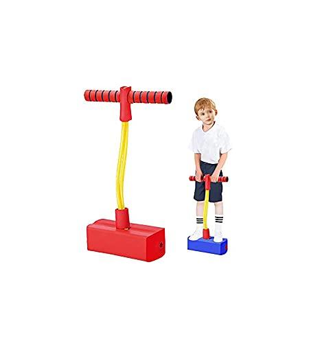 SHUAIGE Bola de salto de goma bola de equilibrio para niños juego interior Core entrenamiento regalo de cumpleaños juguete (verde) (Color: rojo)