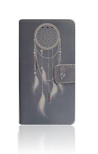compatibile per MEIZU M5C (M710H) / MEIZU A5 CUSTODIA cover STAND flip LIBRO magnetica GEL TPU eco pelle PORTAFOGLIO porta carte (ACCHIAPPASOGNI)