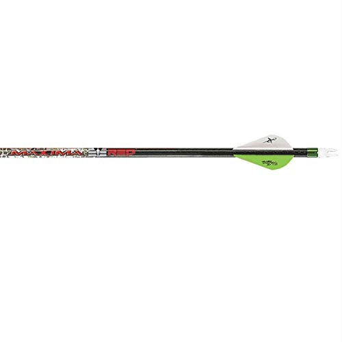 Carbon Express 50978 Maxima Red Badlands 350 Arrows (6 Pack), Badlands Approach/Black