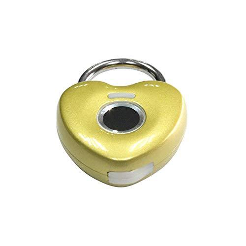Candado con huella digital Cerradura inteligente a prueba de agua...