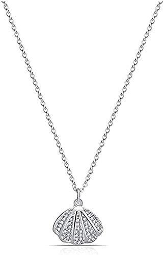 ZGYFJCH Co.,ltd Collar Mujer Cadena Collar Gargantilla Collares Gargantilla Joyas para Boda Tamaño 46 + 5Cm