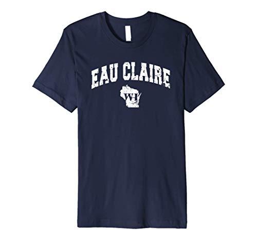 Eau Claire, Wisconsin - Retro Vintage Shirt