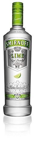 Smirnoff Lime Vodka 37,5% 0,7l Flasche