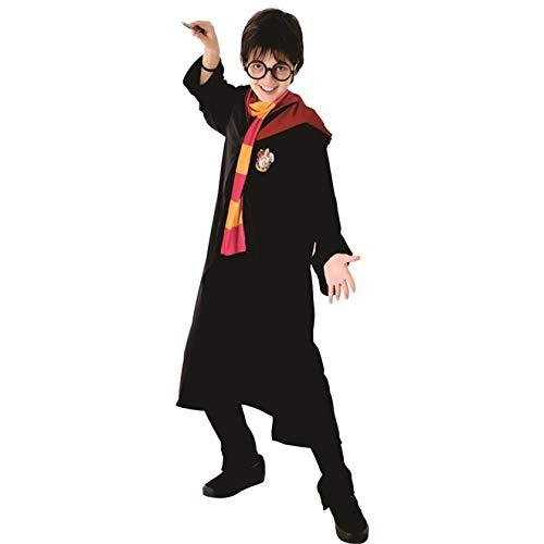 Fantasia Harry Potter infantil luxo Grifinória Sulamericana G 9 - 12
