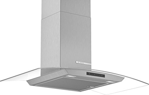 Bosch DWA96DM50 Dunstabzugshaube / Kaminhaube / 90 cm / Metallfettfilter