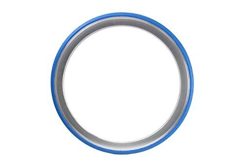 700 x 28C Tannus Vollgummireifen solid Fixie Singlespeed Reifen Aither 1.1, Farbe:blau